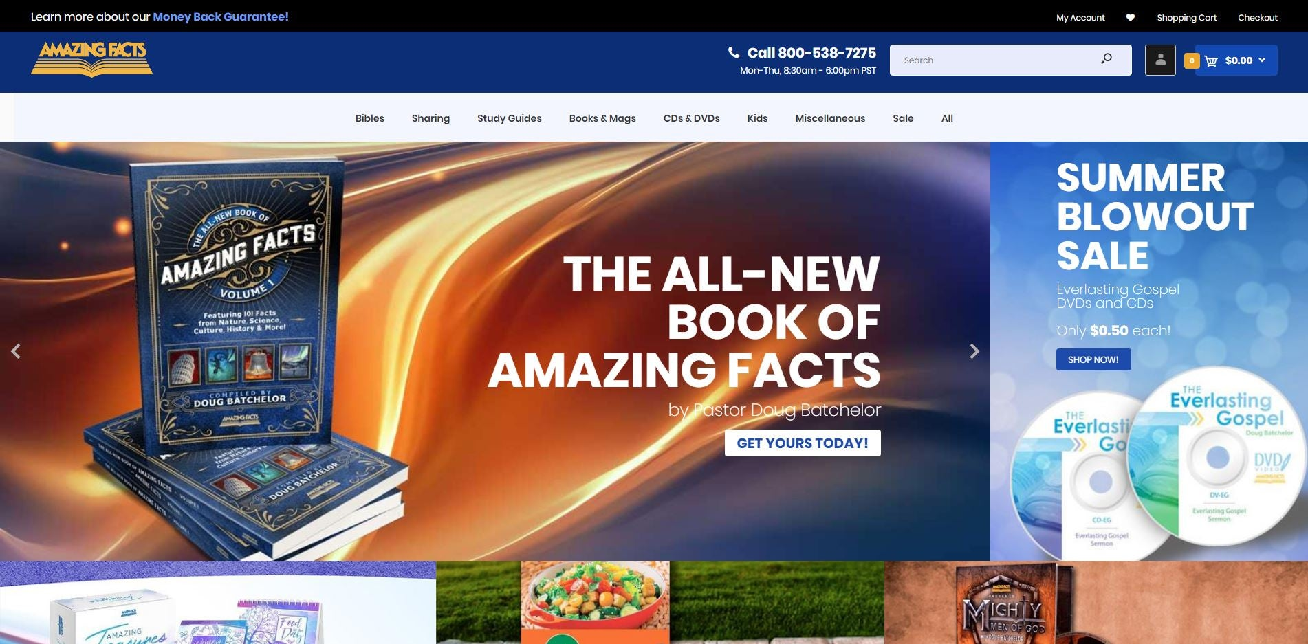 Amazing Facts Bookstore | AFBookstore com