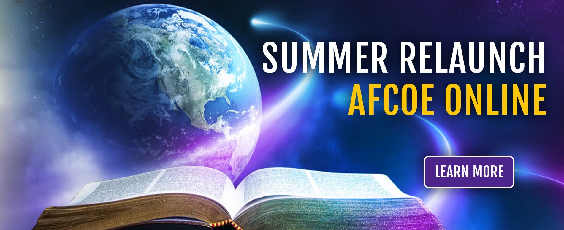 AFCOE Online Summer Session