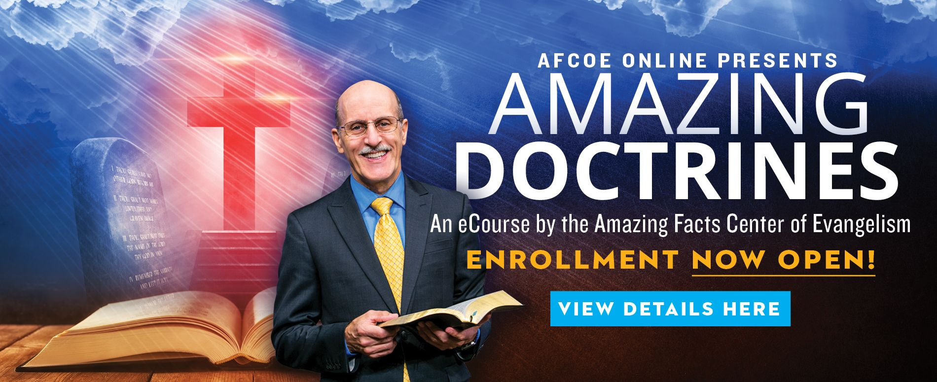 Amazing Doctrines Open Enrollment