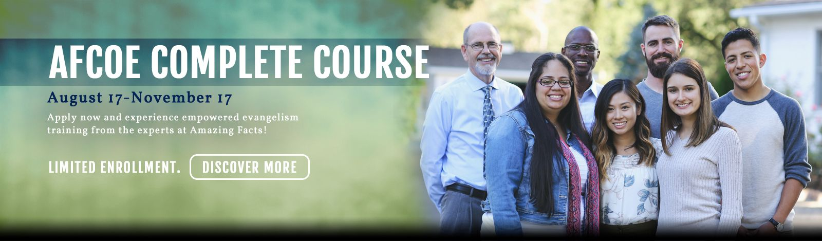 Sign up for our Complete Course