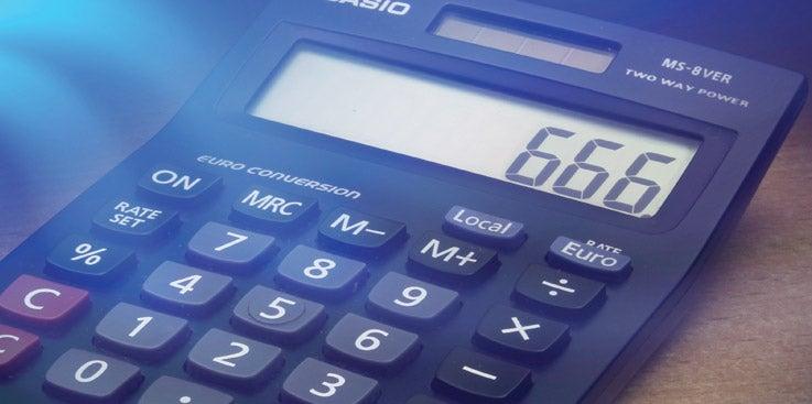 A Curious Calculation