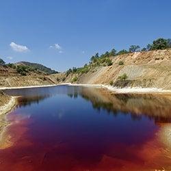 Jordan Water Turns to Blood?