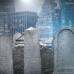 There's a dwindling number of available graves sites in New York City, and ...