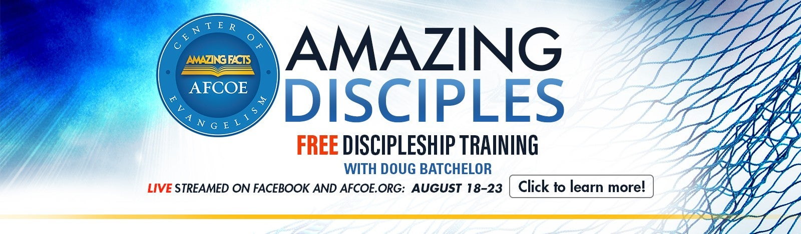 Free Amazing Disciples Training