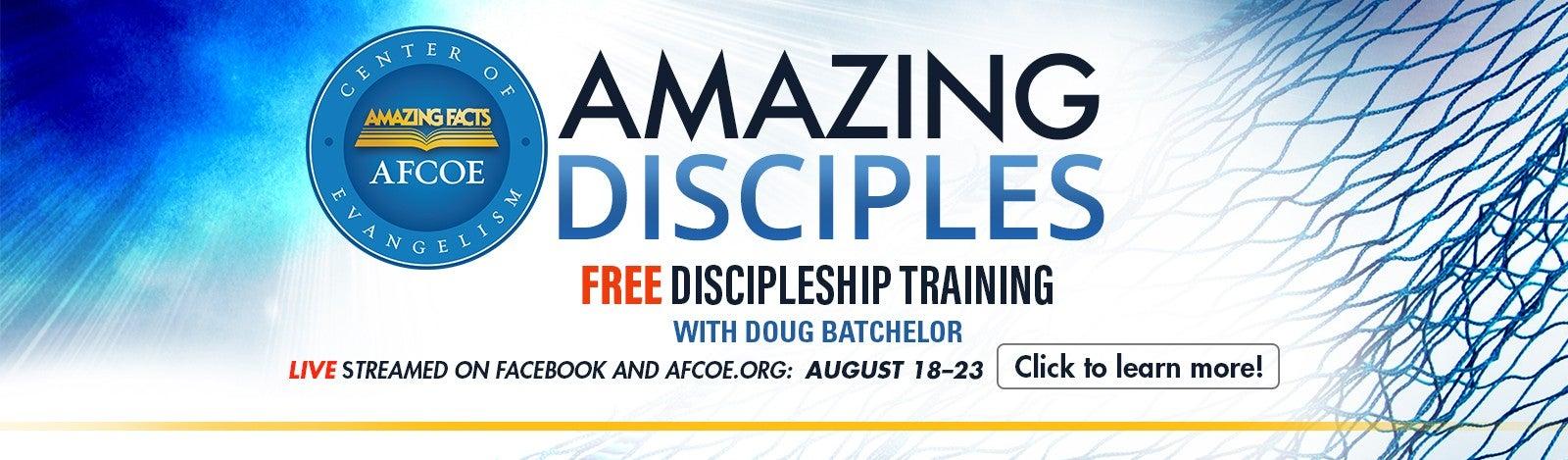 Free Amazing Disciples Training
