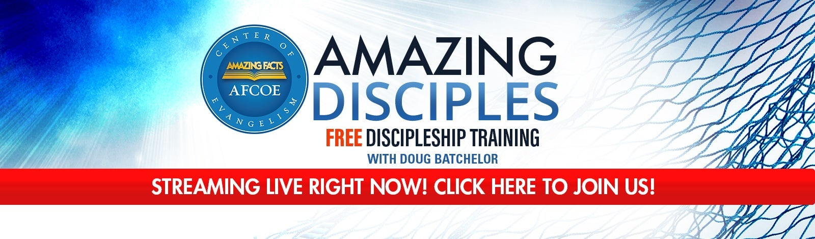 Amazing Disciples Training Is Live Right Now!