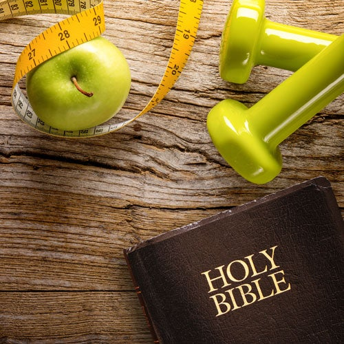 Starting a New Year's resolution about your health? Here are some biblical ...