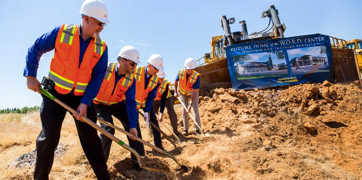 Building for Eternity: Breaking Ground