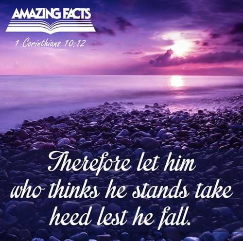 1 Corinthians 10:12