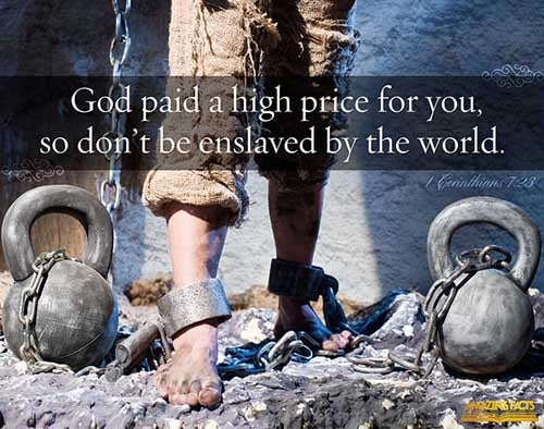 1 Corinthians 7:23
