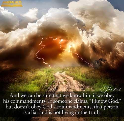 1 John 2:3-4