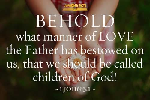 Behold, what manner of love the Father hath bestowed upon us, that we should be called the sons of God: therefore the world knoweth us not, because it knew him not. 