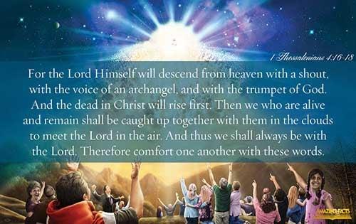 1 Thessalonians 4:16-18