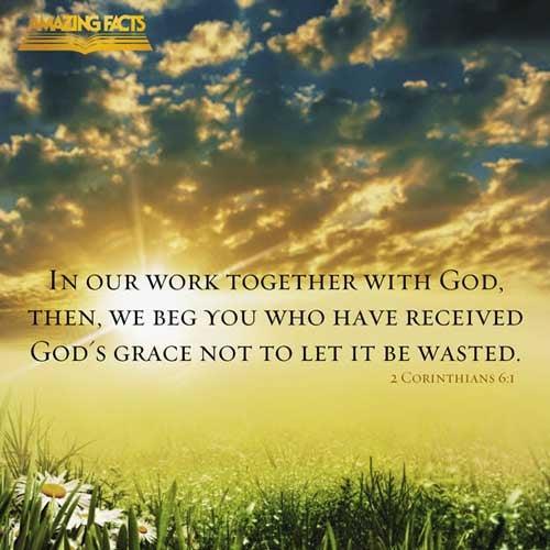 2 Corinthians 6:1