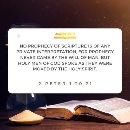 2 Peter 1:20-21