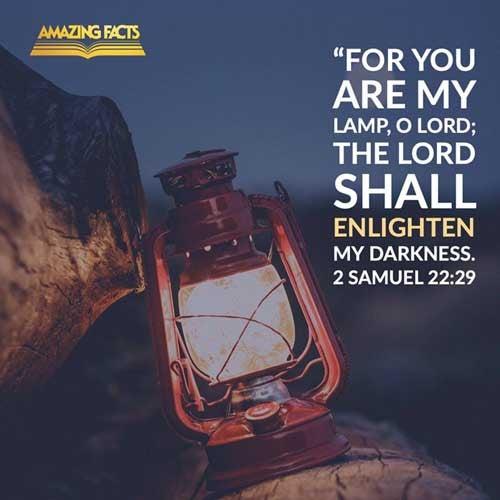 2 Samuel 22:29
