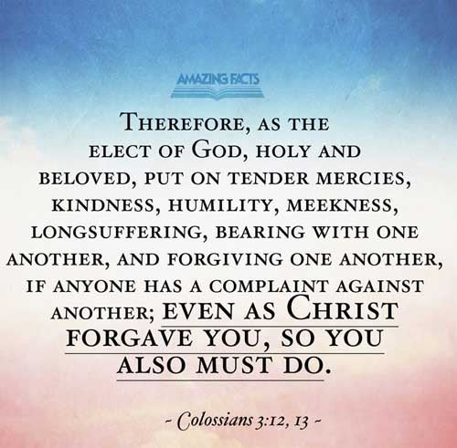 Colossians 3:12-13