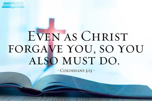 Forbearing one another, and forgiving one another, if any man have a quarrel against any: even as Christ forgave you, so also do ye. 