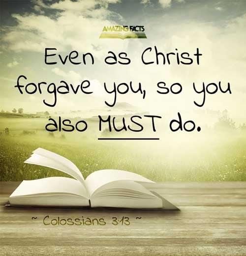 Colossians 3:13
