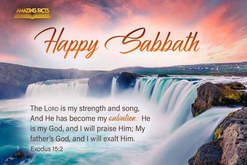 The LORD is my strength and song, and he is become my salvation: he is my God, and I will prepare him an habitation; my father's God, and I will exalt him. 