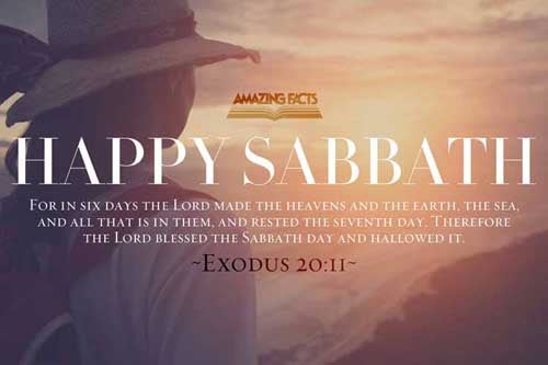 For in six days the LORD made heaven and earth, the sea, and all that in them is, and rested the seventh day: wherefore the LORD blessed the sabbath day, and hallowed it. 