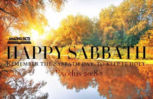 Remember the sabbath day, to keep it holy. 