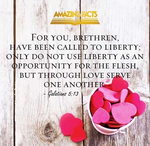 Galatians 5:13