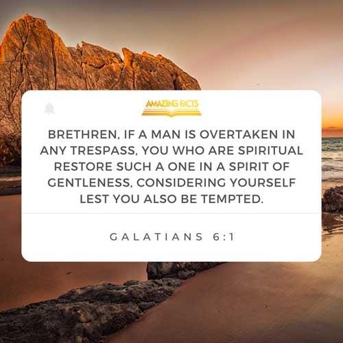 Galatians 6:1