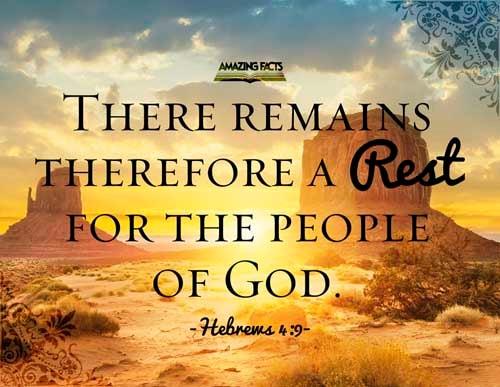 Hebrews 4:9