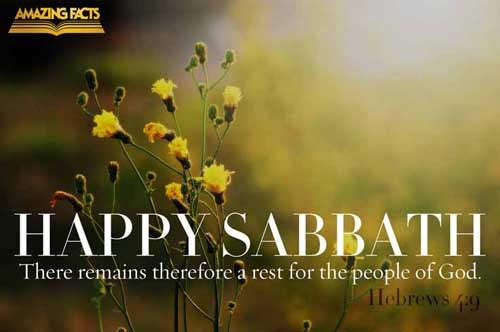 Hebrews 4:9 - This Scripture Picture is provided courtesy of Amazing Facts. Visit us at www.amazingfacts.org