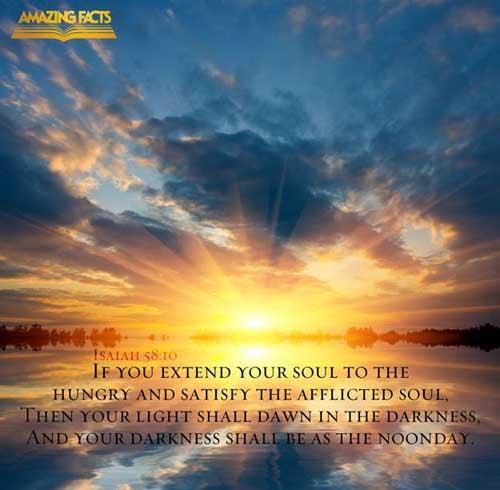 Isaiah 58:10