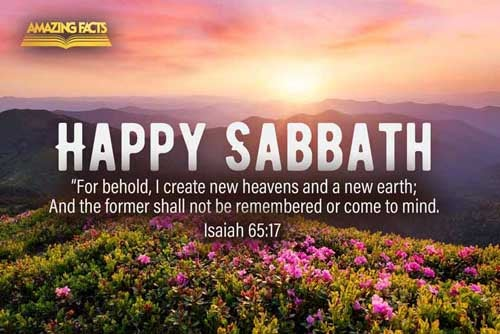 For, behold, I create new heavens and a new earth: and the former shall not be remembered, nor come into mind. 