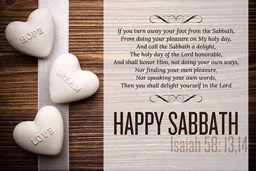 Isaiah 58:13-14