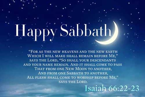 Isaiah 66:22-23