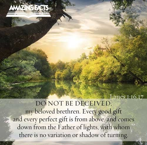 James 1:16-17