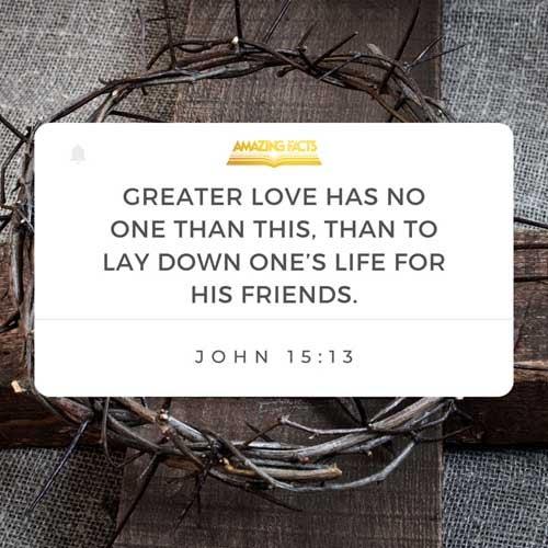 John 15:13