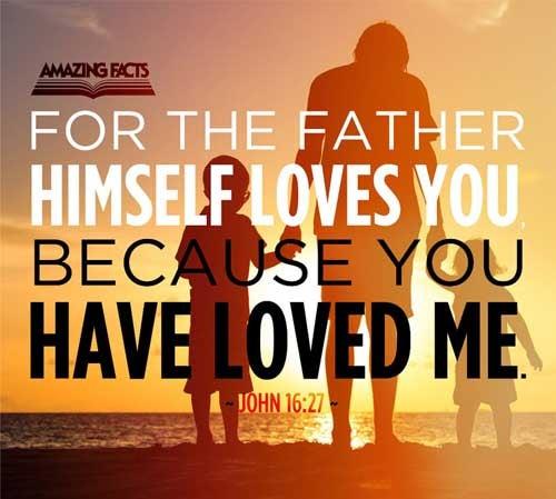 John 16:27