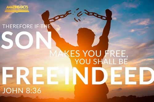 If the Son therefore shall make you free, ye shall be free indeed. 