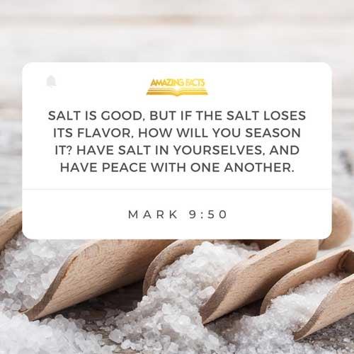 Mark 9:50