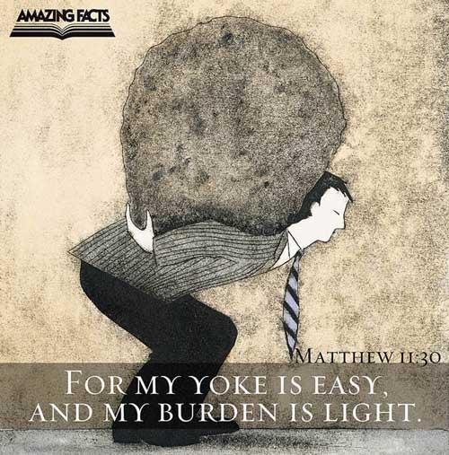 Matthew 11:30