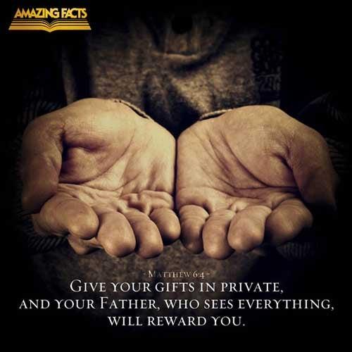 Matthew 6:4