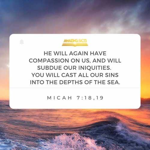 Micah 7:18-19