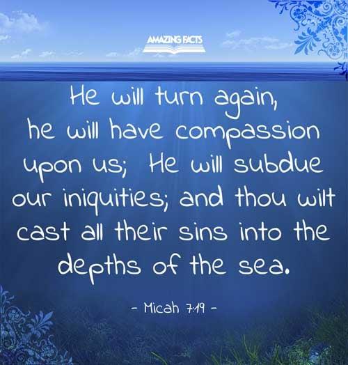 Micah 7:19