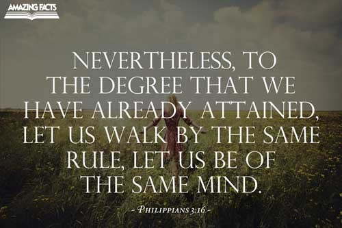 Philippians 3:16