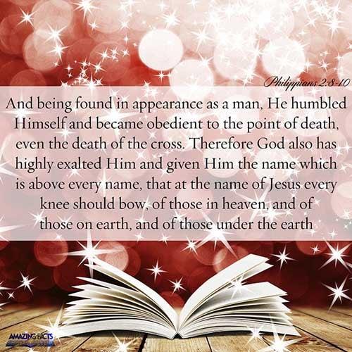 Philippians 2:8-10