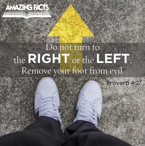 Proverbs 4:27