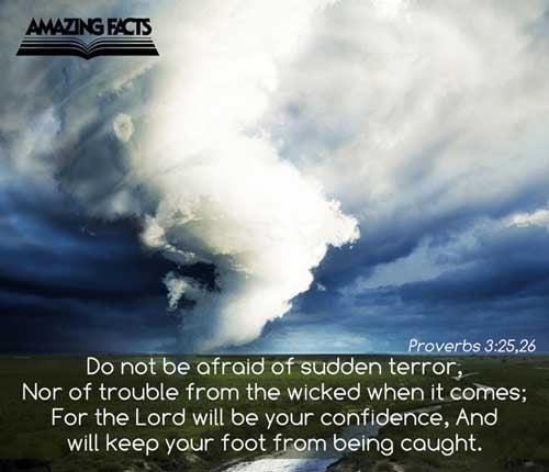Proverbs 3:25-26