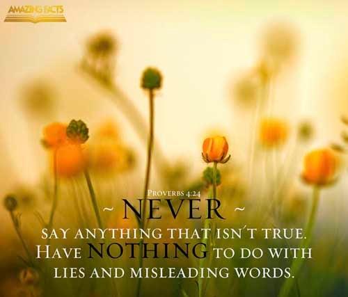 Proverbs 4:24