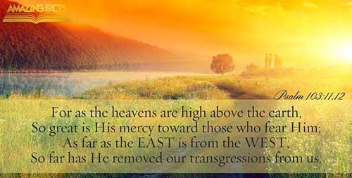 Psalms 103:11-12