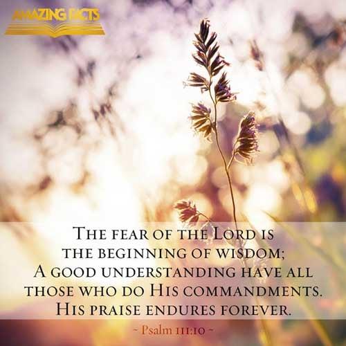 Psalms 111:10